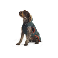 Ancol Green Parka Dog Coat
