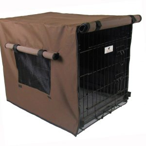 Brown Waterproof Dog Crate Covers