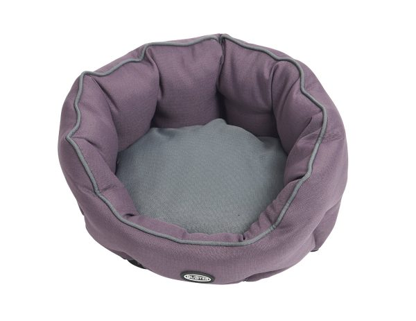 Buster Cocoon Beds Black Plum/Steel