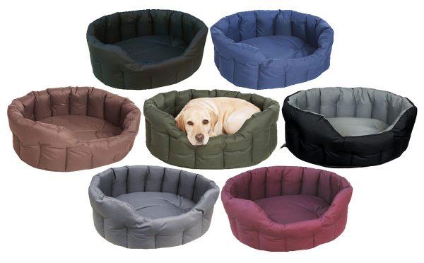 Heavy Duty Waterproof Oval Bed