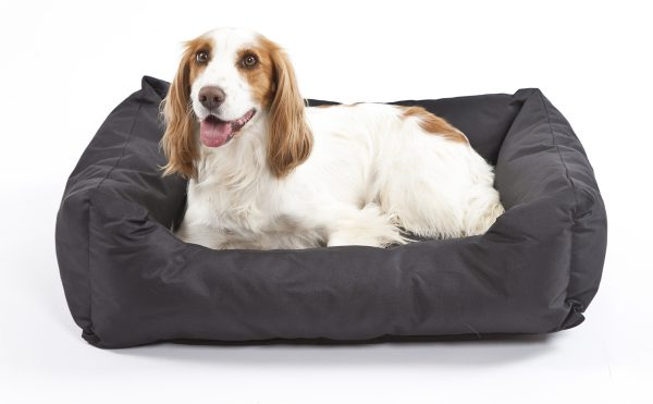 Settledown Rectangular Dog Beds Black