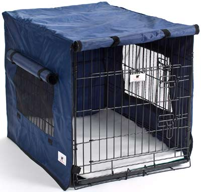 Waterproof Dog Crate Covers Blue
