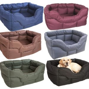 Waterproof Rectangular Dog Beds