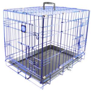 Dog Life Colour Pop Blue Crate